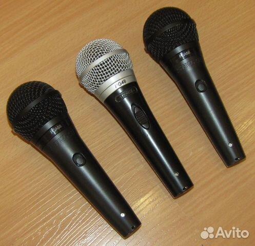 Проф вокальные микрофоны Shure PG48 - 58 3шт новые 89128899109 купить 5