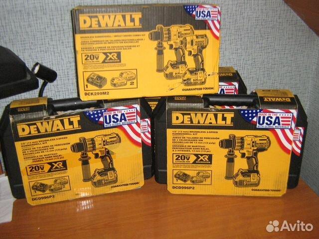 Новый набор шуруповертов Dewalt DCK299M2 США 89134329120 купить 10