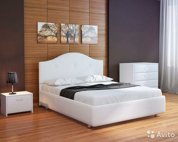 Кровать двуспальная новая.)