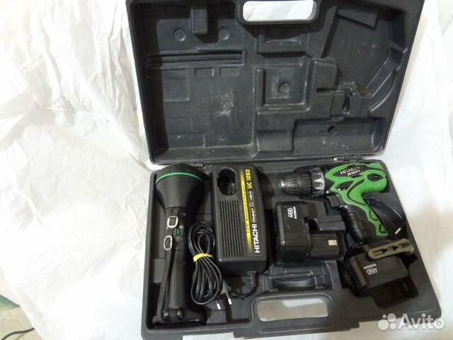 Шуруповерт 12В Hitachi-DS12DVF3 89503511255 купить 1