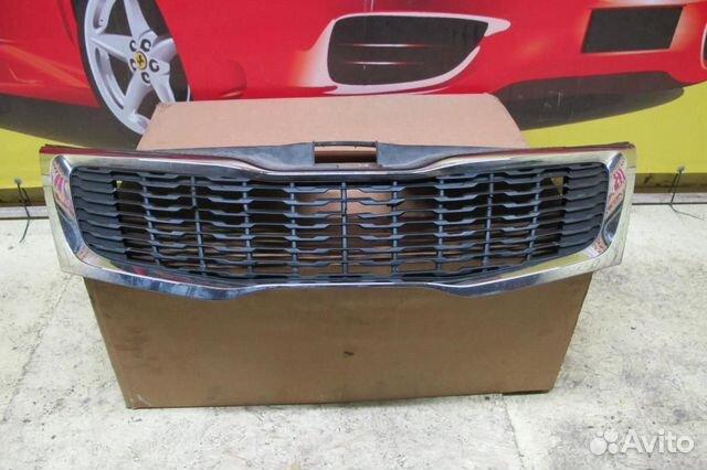 89524408730 Kia RIO 2011) Решетка радиатора