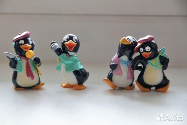 89128031905 Киндер-сюрприз пингвины
