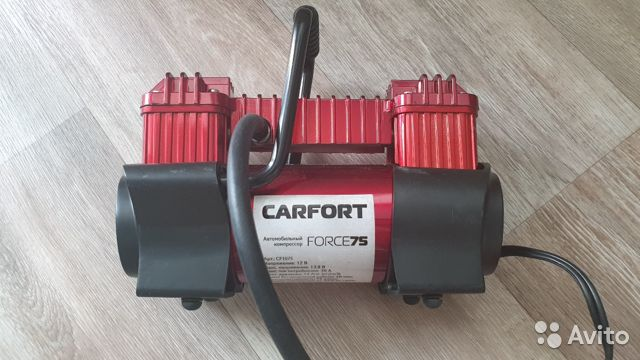 Компрессор автомобильный Carfort Force-75, 12В, 30 89241054317 купить 1
