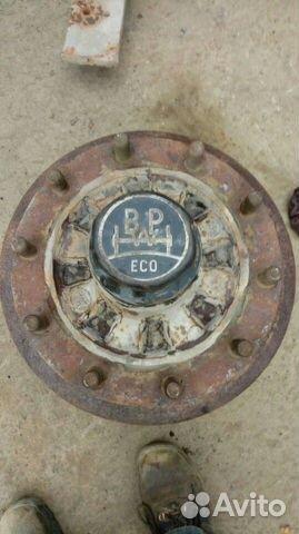 BPW ECO ступица полуприцепа