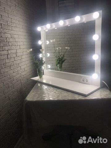 Гримерное зеркало с полочкой  89383042005 купить 1