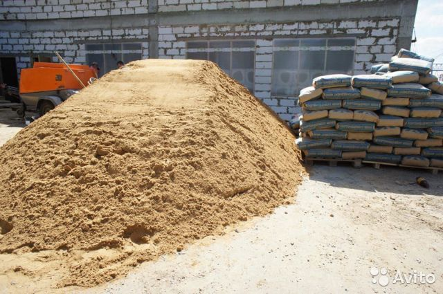 Гравий песок бетон иконка бетон