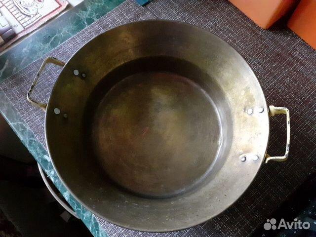 Таз латунь СССР 3 литра  89202703665 купить 1