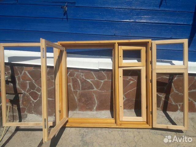 Окно, Деревянная рама Новая  89003117768 купить 3