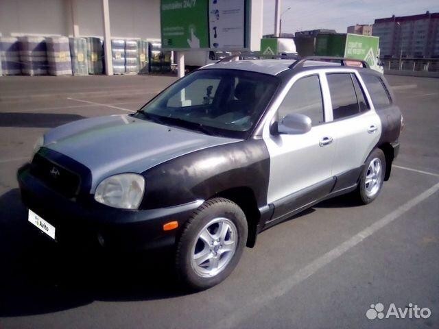 Hyundai Santa Fe, 2000