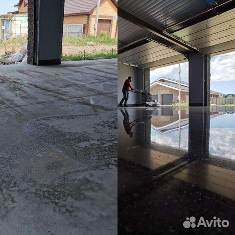Полировка бетона уфа столешницы из бетона на заказ