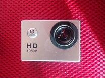 Экшн камера Sports 1080p. Новая. Водонепроницаемая
