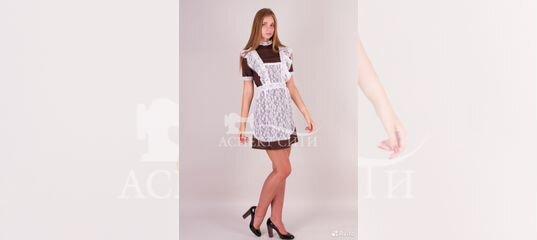Платье и фартук на последний звонок, 14-290к купить в Москве на Avito —  Объявления на сайте Авито be884479db2