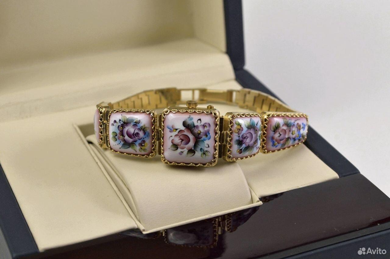 Женские часы Чайка Новые 17 камней Россия 1998 год  89525003388 купить 6