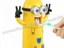 Дозатор пасты и держатель зубных щеток Миньон