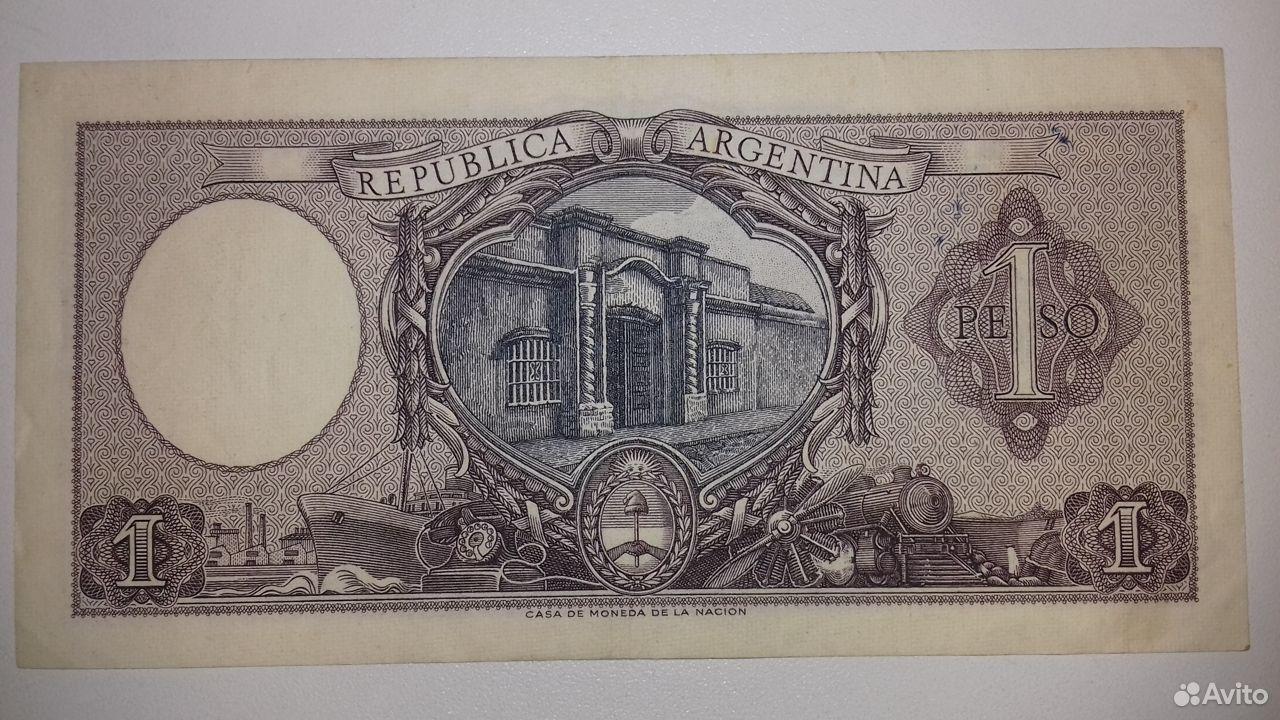 Аргентина Банкнота 1 песо 1962г