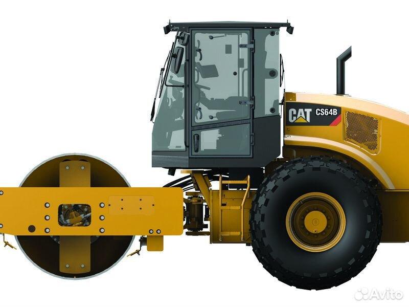 Грунтовый каток Caterpillar CS64B 2020  88007079165 купить 4