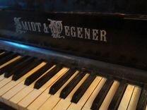 Раритетное фортепиано Smidt&Wegener