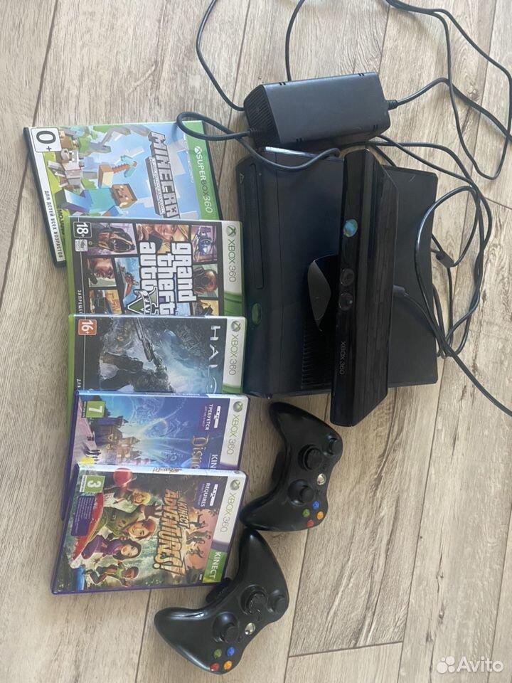 Xbox 360 + Kinect  89145801110 купить 1