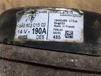 Генератор Porsche Cayenne 4.5