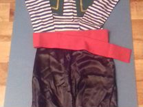 Новогодний костюм разбойника пирата на 4-6лет