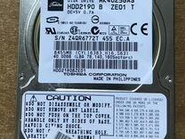 "Жесткий диск 2.5"" IDE 40Gb Toshiba MK-4025GAS"