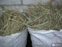 Сено и сенная труха, опилок
