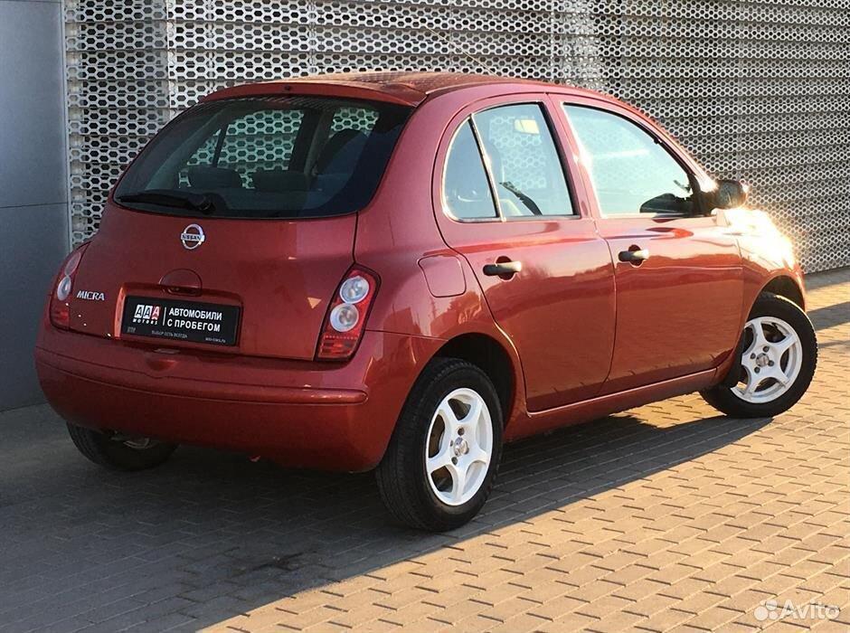Nissan Micra, 2006  88633330423 купить 5