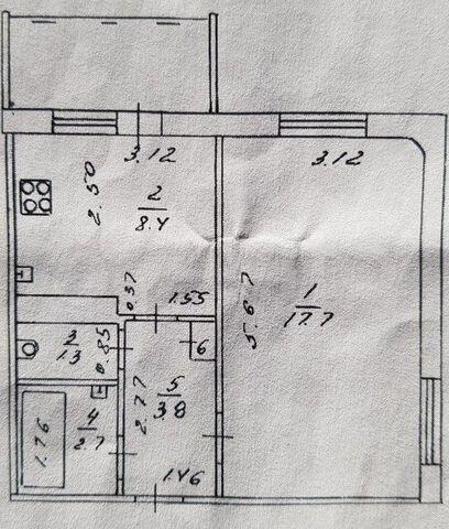 1-к. квартира, 34,1м², 9/10эт.