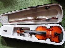 Скрипка 1/4 новая в кейсе
