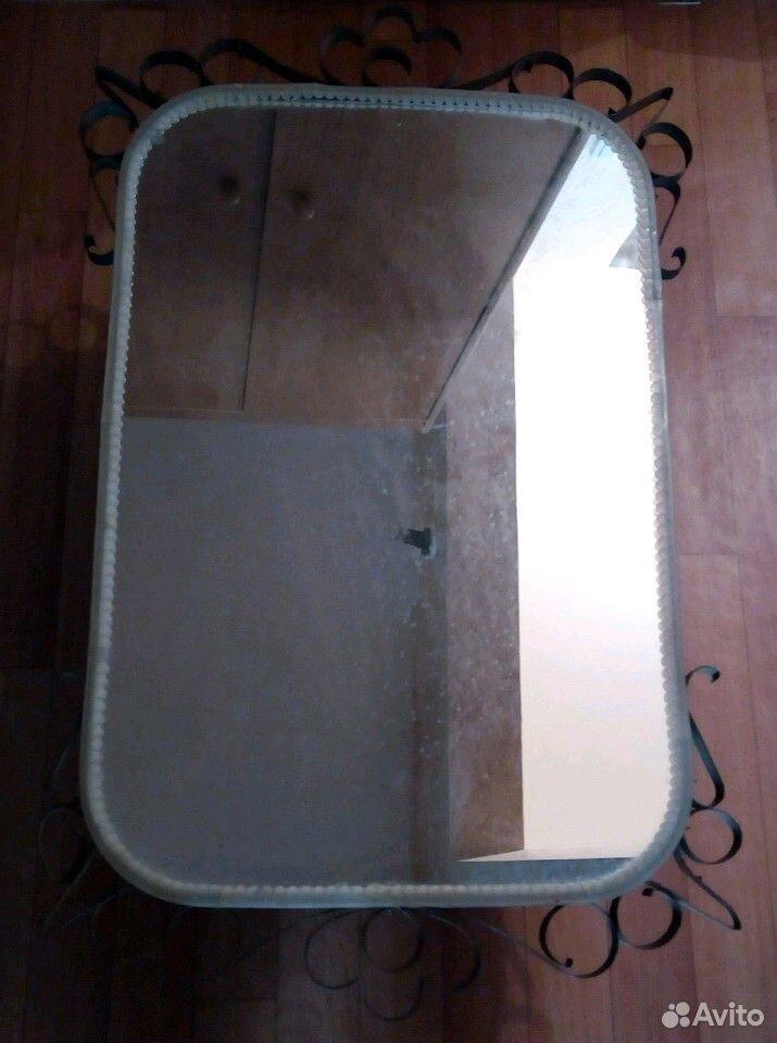 Зеркало в кованой оправе СССР  89332007666 купить 1