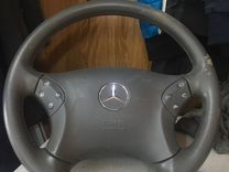 Mercedes C 203 руль,airbag,подушка
