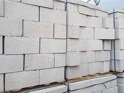 Керамзитобетонный блок стеновой и перегородка