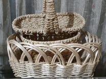 Продам корзинки плетеные под цветы