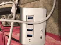 USB хаб Satechi 4 в 1