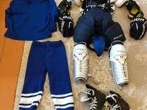 Хоккейная форма на мальчика 7-10 лет