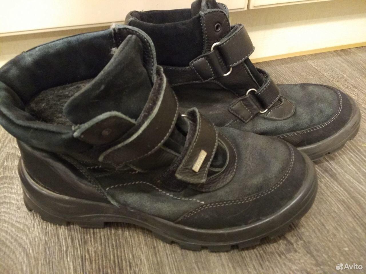 Продам зимние ботинки Котофей 39 размер, б/у  89051351301 купить 2