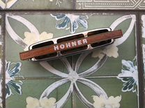 Губная гармошка hohner blues harp ms
