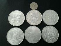 Монеты гиганты серебро