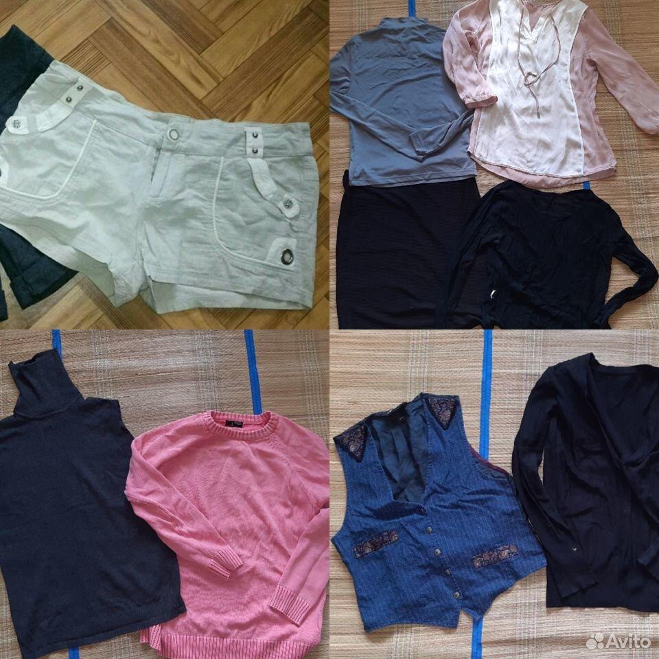 Пакет одежды 46-48 размер  89106881219 купить 9
