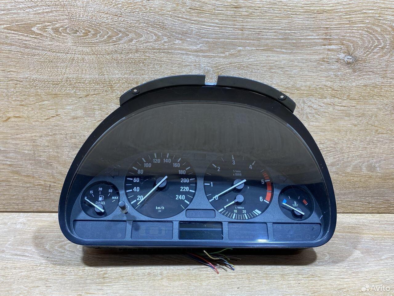 Панель приборов BMW E39 дизель 772089  89534684247 купить 1