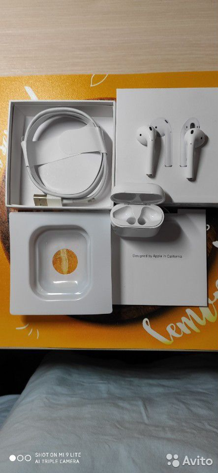 AirPods 2 люкс+подарок чехол в наличии  89678975244 купить 4
