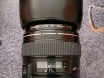 Объектив Canon EF 85mm 1.8