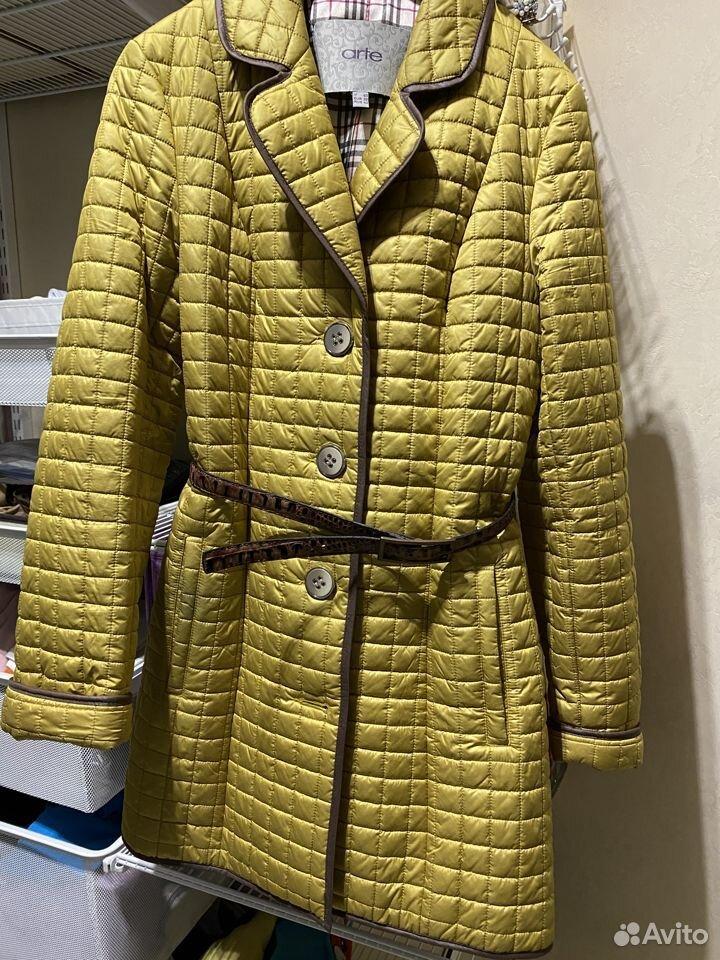 Пальто стеганое  89190105157 купить 3