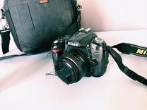 Nikon D90 + объектив Kit + портретник 18-55mm