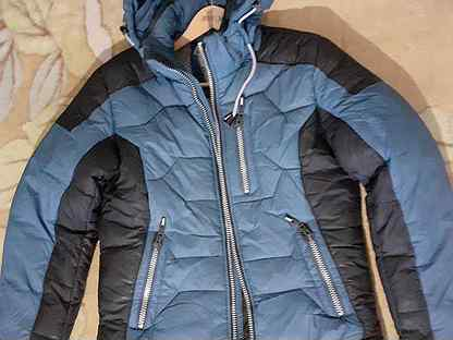 Куртка зимняя 44-46 размер, дождевик