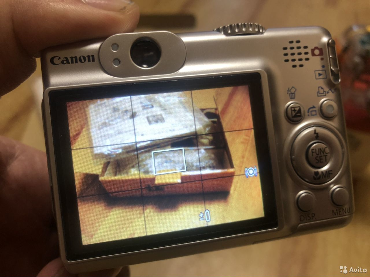 Фотоаппарат canon A570is с боксом для подводной сь 89143229991 купить 6