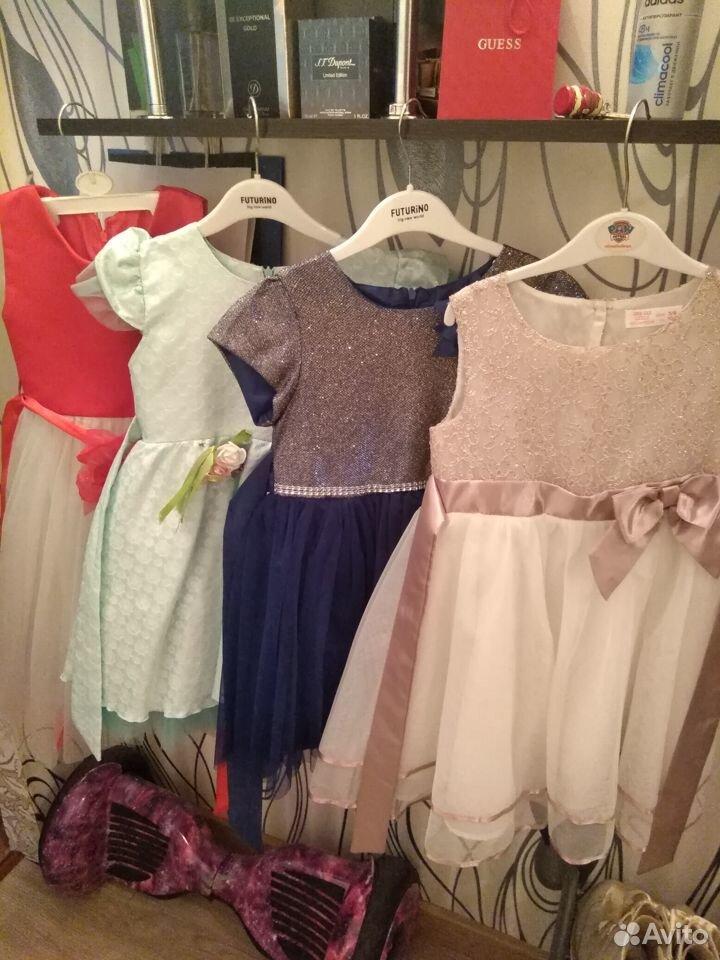 Платья нарядные(3-5лет)  89043727201 купить 1