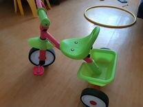 Детский велосипед трехколесный