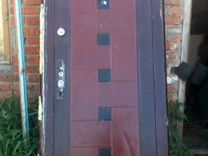 Продам железную входную дверь б/у