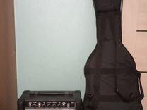 Бас-гитара rockdale + комбо для бас-гитары